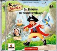 Cover-Bild zu CD Hörspiel: Käpt'n Sharky - Das Geheimnis der Schildkrötenkönigin von Langreuter, Jutta