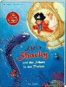 Cover-Bild zu Käpt'n Sharky und der Schatz in der Tiefsee von Langreuter, Jutta