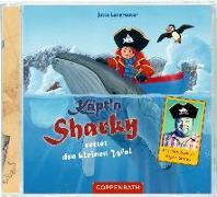 Cover-Bild zu CD: Käpt'n Sharky rettet den kleinen Wal von Langreuter, Jutta