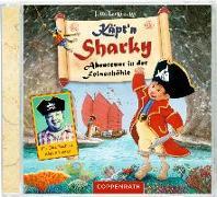 Cover-Bild zu Käpt'n Sharky - Abenteuer in der Felsenhöhle von Langreuter, Jutta