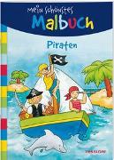 Cover-Bild zu Mein schönstes Malbuch. Piraten. Malen für Kinder ab 5 Jahren von Beurenmeister, Corina (Illustr.)