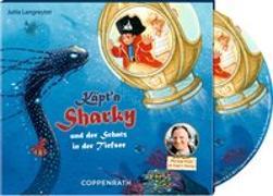 Cover-Bild zu Käpt'n Sharky und der Schatz in der Tiefsee (CD) von Langreuter, Jutta