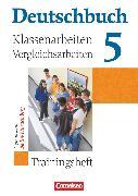 Cover-Bild zu Beck, Markus: Deutschbuch Gymnasium, Baden-Württemberg - Ausgabe 2003, Band 5: 9. Schuljahr, Klassenarbeitstrainer mit Lösungen