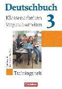 Cover-Bild zu Beck, Markus: Deutschbuch Gymnasium, Baden-Württemberg - Ausgabe 2003, Band 3: 7. Schuljahr, Klassenarbeitstrainer mit Lösungen