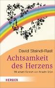 Cover-Bild zu Steindl-Rast, David: Die Achtsamkeit des Herzens
