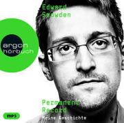 Cover-Bild zu Snowden, Edward: Permanent Record