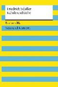 Cover-Bild zu Schiller, Friedrich: Kabale und Liebe. Textausgabe mit Kommentar und Materialien