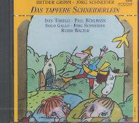 Cover-Bild zu Das tapfere Schneiderlein. CD von Grimm, Jacob