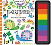 Cover-Bild zu Watt, Fiona: Fingerstempeln: Tiere