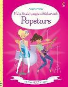 Cover-Bild zu Watt, Fiona: Mein Anziehpuppen-Stickerbuch: Popstars