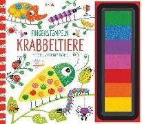 Cover-Bild zu Watt, Fiona: Fingerstempeln: Krabbeltiere