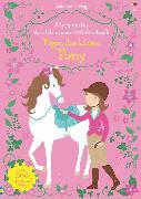 Cover-Bild zu Watt, Fiona: Mein erstes Anziehpuppen-Stickerbuch: Pippa, das kleine Pony