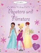 Cover-Bild zu Watt, Fiona: Mein großes Anziehpuppen-Stickerbuch: Popstars und Filmstars
