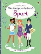 Cover-Bild zu Watt, Fiona: Mein Anziehpuppen-Stickerbuch: Sport