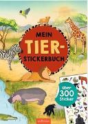 Cover-Bild zu Mein Tier-Stickerbuch von Schumacher, Timo (Illustr.)