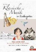 Cover-Bild zu Schuh, Karin: Klassische Musik im Kindergarten - Peter und der Wolf