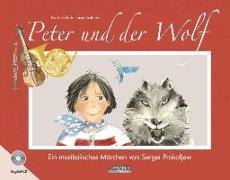Cover-Bild zu Schuh, Karin: Peter und der Wolf
