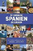 Cover-Bild zu Drouve, Andreas: 111 Gründe, Spanien zu lieben (eBook)