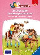 Cover-Bild zu Neudert, Cee: Zauberhafte Erstlesegeschichten von Pferden und Geheimnissen