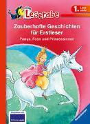 Cover-Bild zu Neudert, Cee: Zauberhafte Geschichten für Erstleser. Ponys, Feen und Prinzessinnen - Leserabe 1. Klasse - Erstlesebuch für Kinder ab 6 Jahren