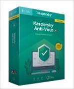 Cover-Bild zu Kaspersky Anti-Virus Upgrade SWISS EDITION (Code in a Box)