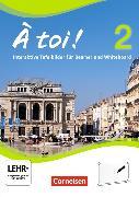 Cover-Bild zu À toi! 2. Interaktive Tafelbilder für Whiteboard und Beamer