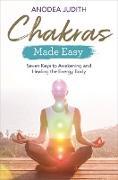 Cover-Bild zu Chakras Made Easy von Judith, Anodea