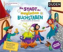 Cover-Bild zu Weltenfänger: Die Stadt der magischen Buchstaben (Spiel) - ab 5 Jahren von Günster-Schöning, Ursula