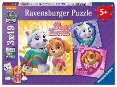 Cover-Bild zu Bezaubernde Hundemädchen Puzzle 3 x 49 Teile