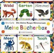 Cover-Bild zu Die kleine Raupe Nimmersatt - Meine Bücherbox von Carle, Eric