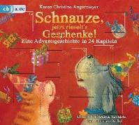 Cover-Bild zu Schnauze, jetzt rieselt's Geschenke von Angermayer, Karen Christine