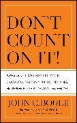 Cover-Bild zu Don't Count on It! (eBook) von Bogle, John C.