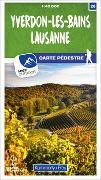 Cover-Bild zu Hallwag Kümmerly+Frey AG (Hrsg.): Yverdon-les-Bains - Lausanne 26 Wanderkarte 1:40 000 matt laminiert. 1:40'000