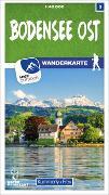 Cover-Bild zu Hallwag Kümmerly+Frey AG (Hrsg.): Bodensee Ost 03 Wanderkarte 1:40 000 matt laminiert. 1:40'000