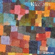 Cover-Bild zu Klee 2021 - Wand-Kalender - Broschüren-Kalender - 30x30 - 30x60 geöffnet - Kunst-Kalender von Klee, Paul