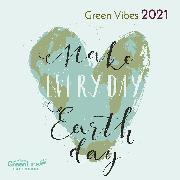 Cover-Bild zu GreenLine Green Vibes 2021 - Wand-Kalender - Borschüren-Kalender - 30x30 - 30x60 geöffnet von teNeues Calendars