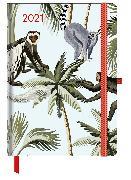 Cover-Bild zu GreenLine Diary Jungle 2021 - Buchkalender - Taschenkalender - 16x22 von teNeues Calendars