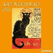 Cover-Bild zu Art Nouveau 2021 - Wand-Kalender - Broschüren-Kalender - 30x30 - 30x60 geöffnet - Kunst-Kalender von teNeues Calendars