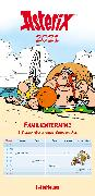 Cover-Bild zu Asterix 2021 Familienplaner - Familien-Timer - Termin-Planer - Kids - Kinder-Kalender - Familien-Kalender - 22x45 von Uderzo, Albert