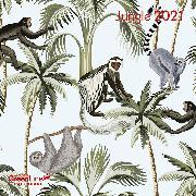 Cover-Bild zu GreenLine Jungle 2021 - Wand-Kalender - Broschüren-Kalender - 30x30 - 30x60 geöffnet von teNeues Calendars