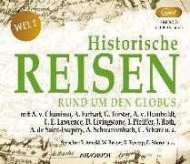 Cover-Bild zu Diverse: Historische Reisen - rund um den Globus