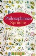 Cover-Bild zu Philosophinnen-Sprüche von Brüning, Barbara