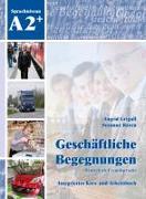 Cover-Bild zu Geschäftliche Begegnungen. Integriertes Kurs- und Arbeitsbuch von Grigull, Ingrid