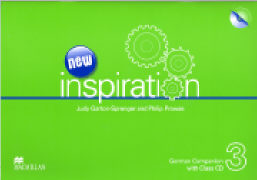 Cover-Bild zu New Inspiration 3. German Companion von Garton-Sprenger, Judy