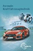 Cover-Bild zu Formeln Kraftfahrzeugtechnik (2017) von Fischer, Richard