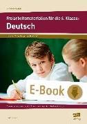 Cover-Bild zu Freiarbeitsmaterialien für die 6. Klasse: Deutsch (eBook) von Koch, Günther