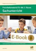 Cover-Bild zu Freiarbeitsmaterial für die 3. Klasse: Sachunterricht (eBook) von Fröhlich, Anna