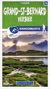 Cover-Bild zu Hallwag Kümmerly+Frey AG (Hrsg.): Grand-St-Bernard 48 Wanderkarte 1:40 000 matt laminiert. 1:40'000