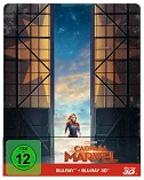 Cover-Bild zu Captain Marvel - 3D+2D - Steelbook von Boden, Anna (Reg.)