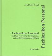 Cover-Bild zu Fachlexikon Personal von Studer, Jürg (Hrsg.)